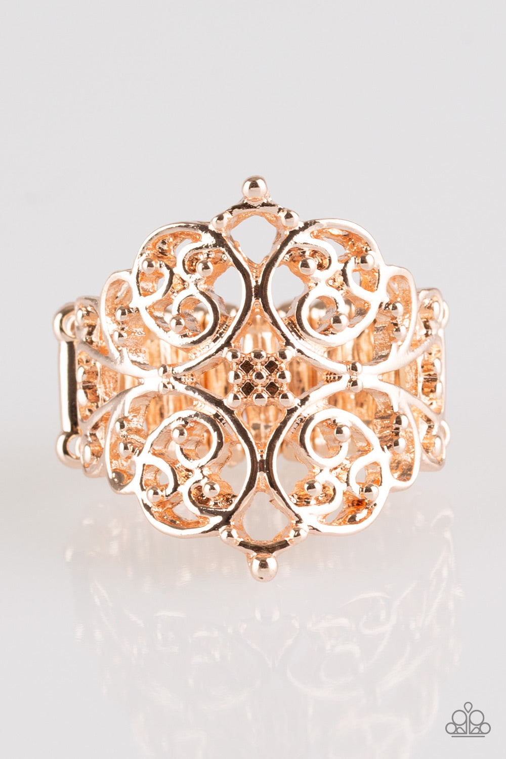 five-dollar-jewelry-victorian-valor-rose-gold-paparazzi-accessories