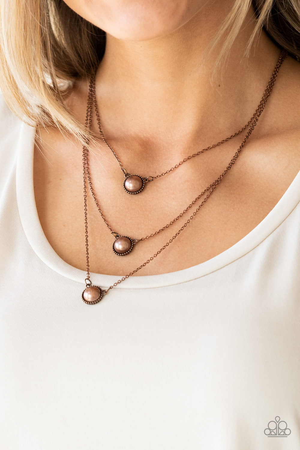 A Love For Luster - Copper Necklace - Paparazzi Accessories