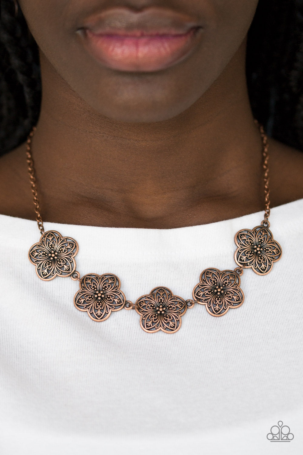 Garden Groove - Copper Necklace - Paparazzi Accessories