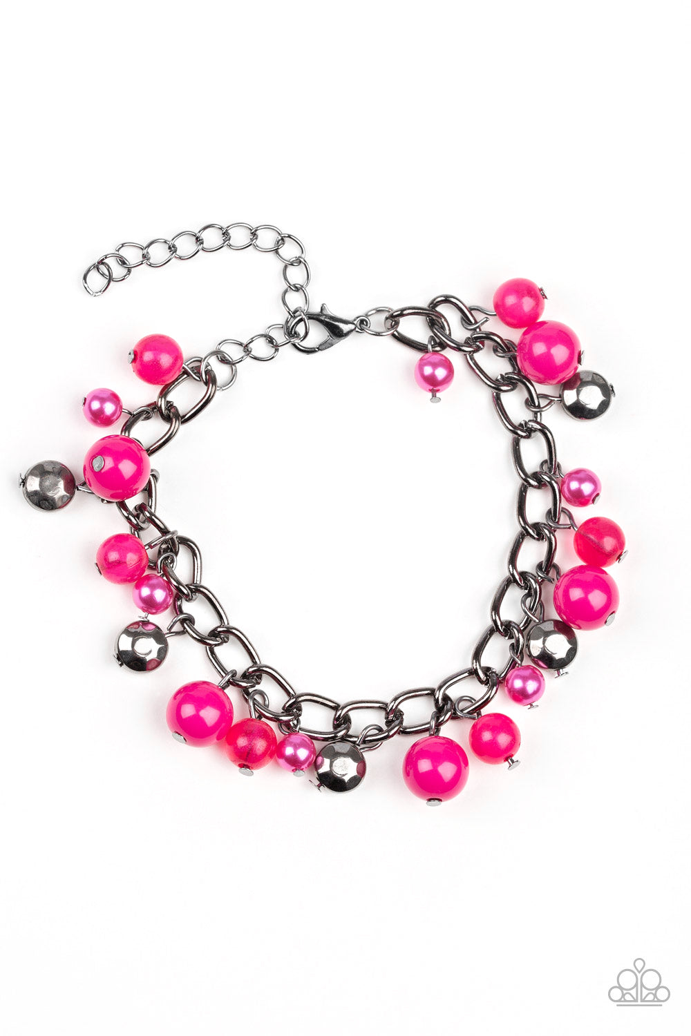 five-dollar-jewelry-hold-my-drink-pink-bracelet-paparazzi-accessories