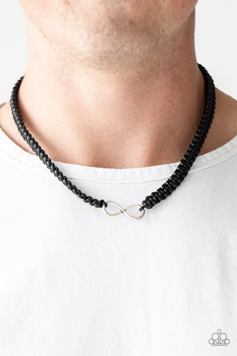 Right On MARITIME - Black Necklace - Paparazzi Accessories