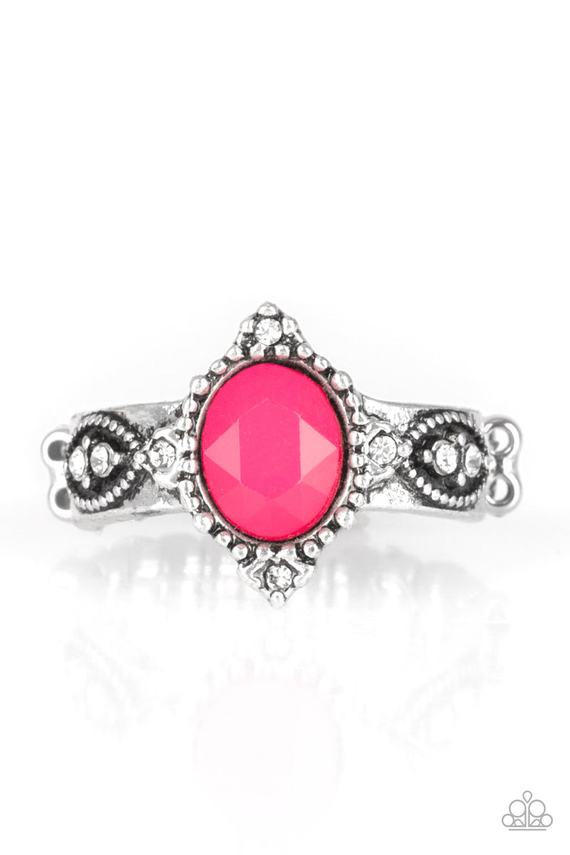 five-dollar-jewelry-pricelessly-princess-pink-ring-paparazzi-accessories