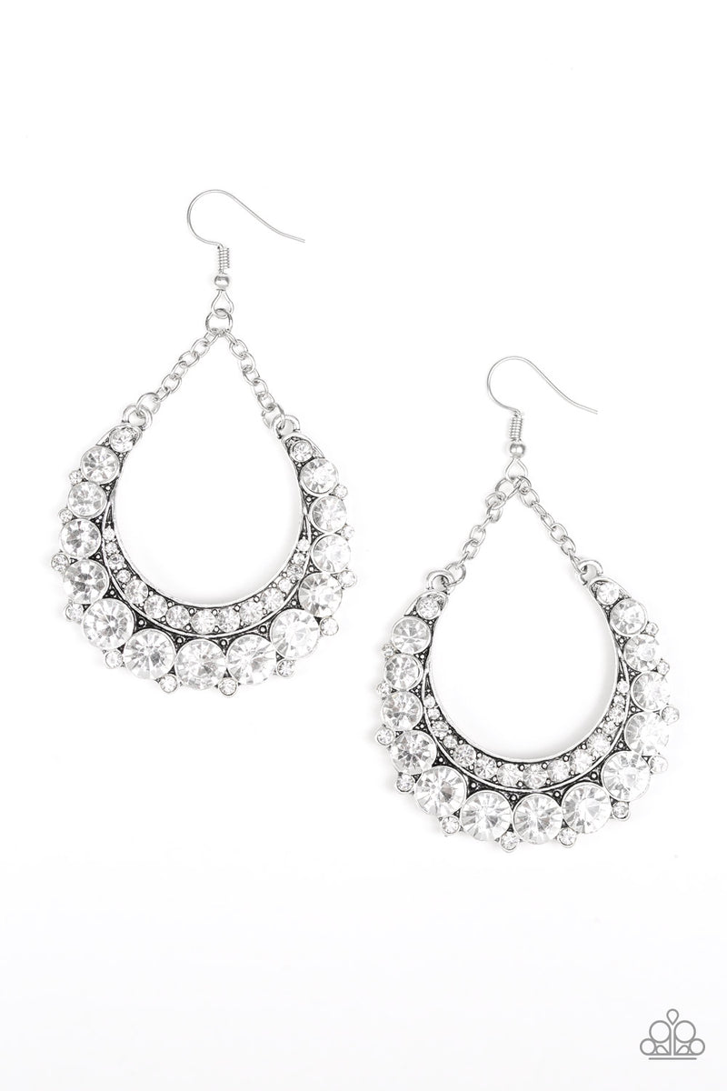 five-dollar-jewelry-once-in-a-showtime-white-earrings-paparazzi-accessories