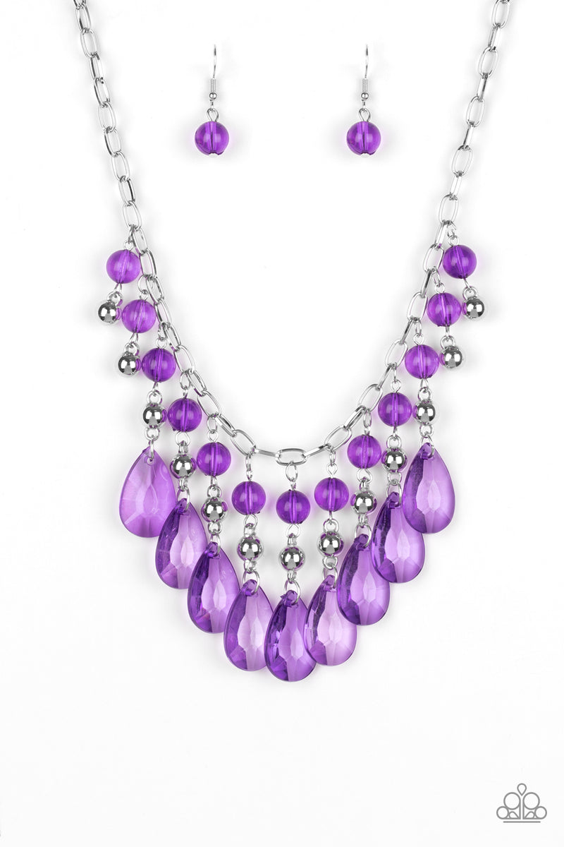 five-dollar-jewelry-beauty-school-drop-out-purple-necklace-paparazzi-accessories