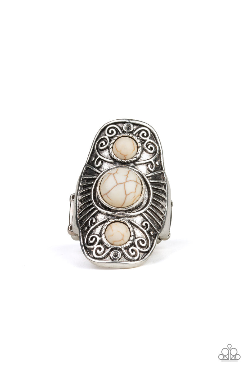 five-dollar-jewelry-stone-oracle-white-ring-paparazzi-accessories