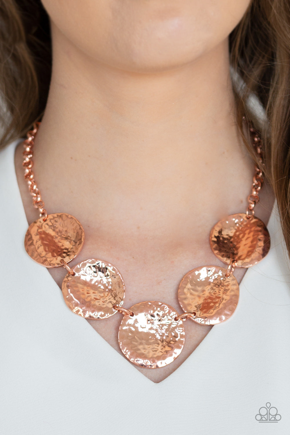 First Impressions - Copper Necklace - Paparazzi Accessories