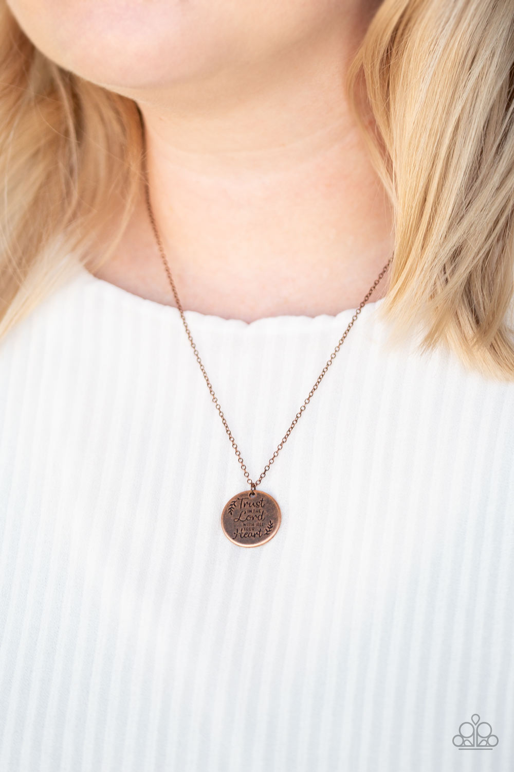 All You Need Is Trust - Copper Necklace - Paparazzi Accessories