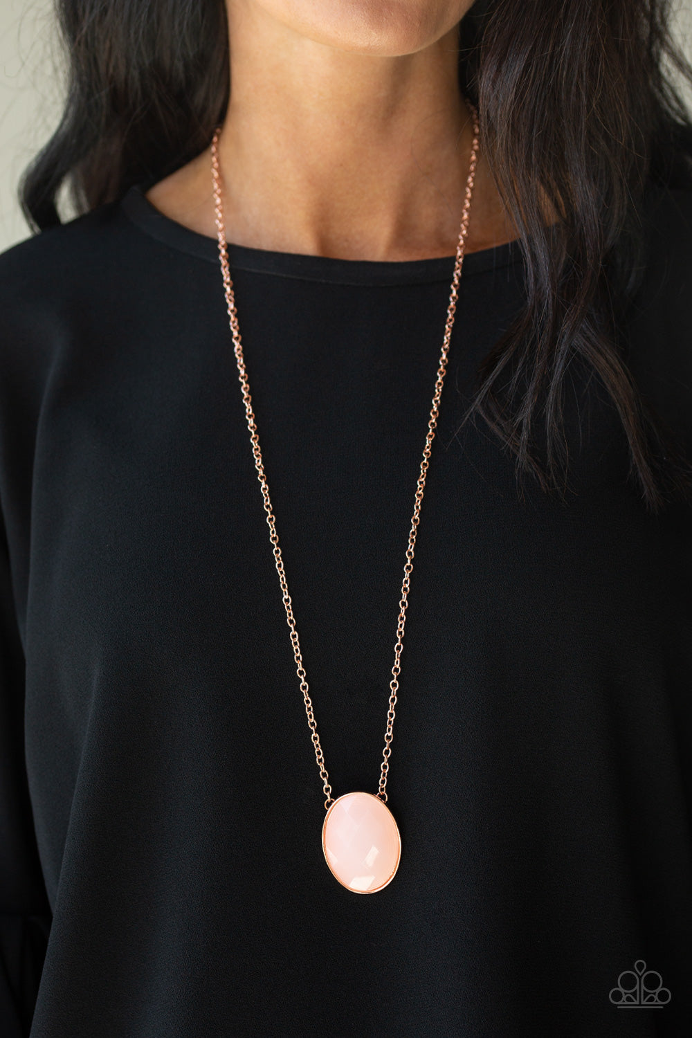 Intensely Illuminated - Copper Necklace - Paparazzi Accessories
