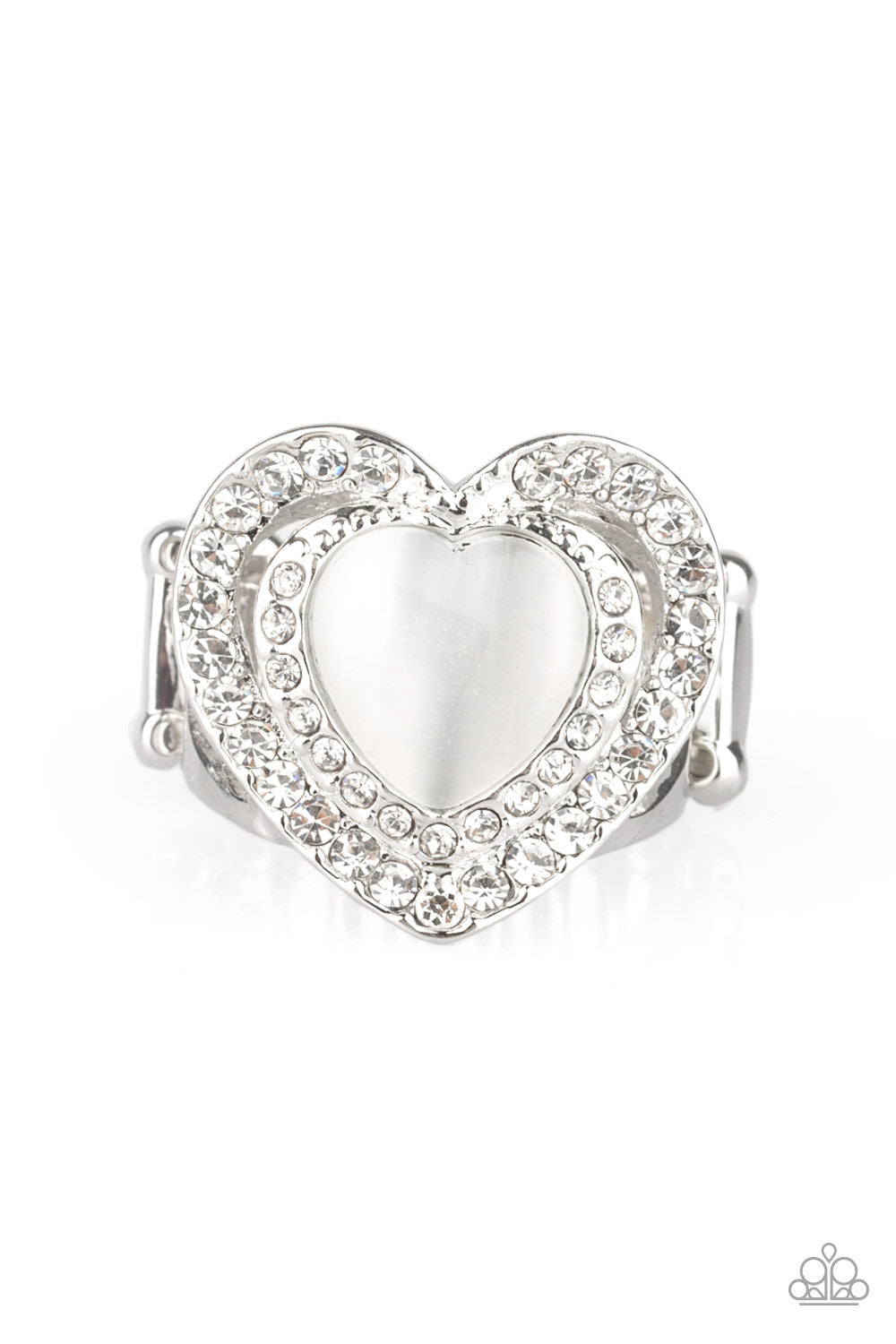 five-dollar-jewelry-what-the-heart-wants-white-ring-paparazzi-accessories