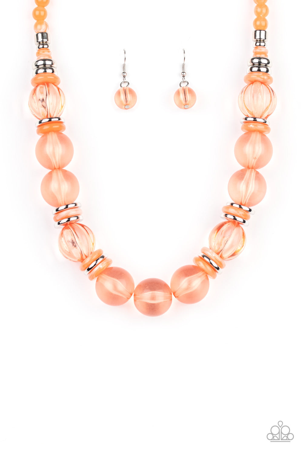 five-dollar-jewelry-bubbly-beauty-orange-necklace-paparazzi-accessories