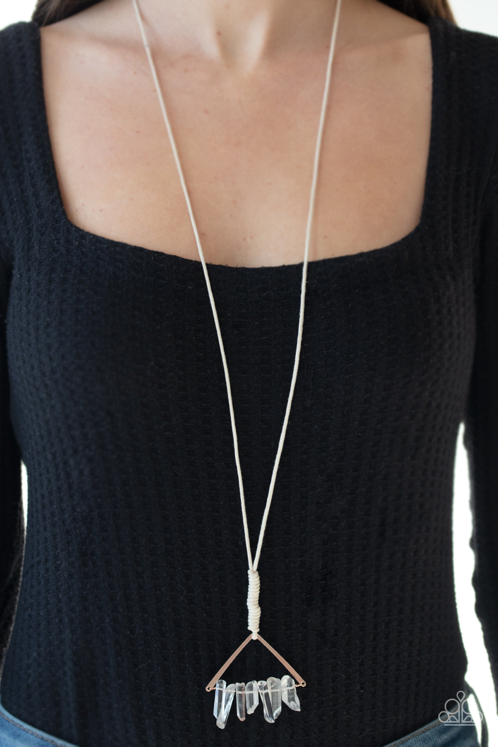 Raw Talent - Rose Gold Necklace - Paparazzi Accessories