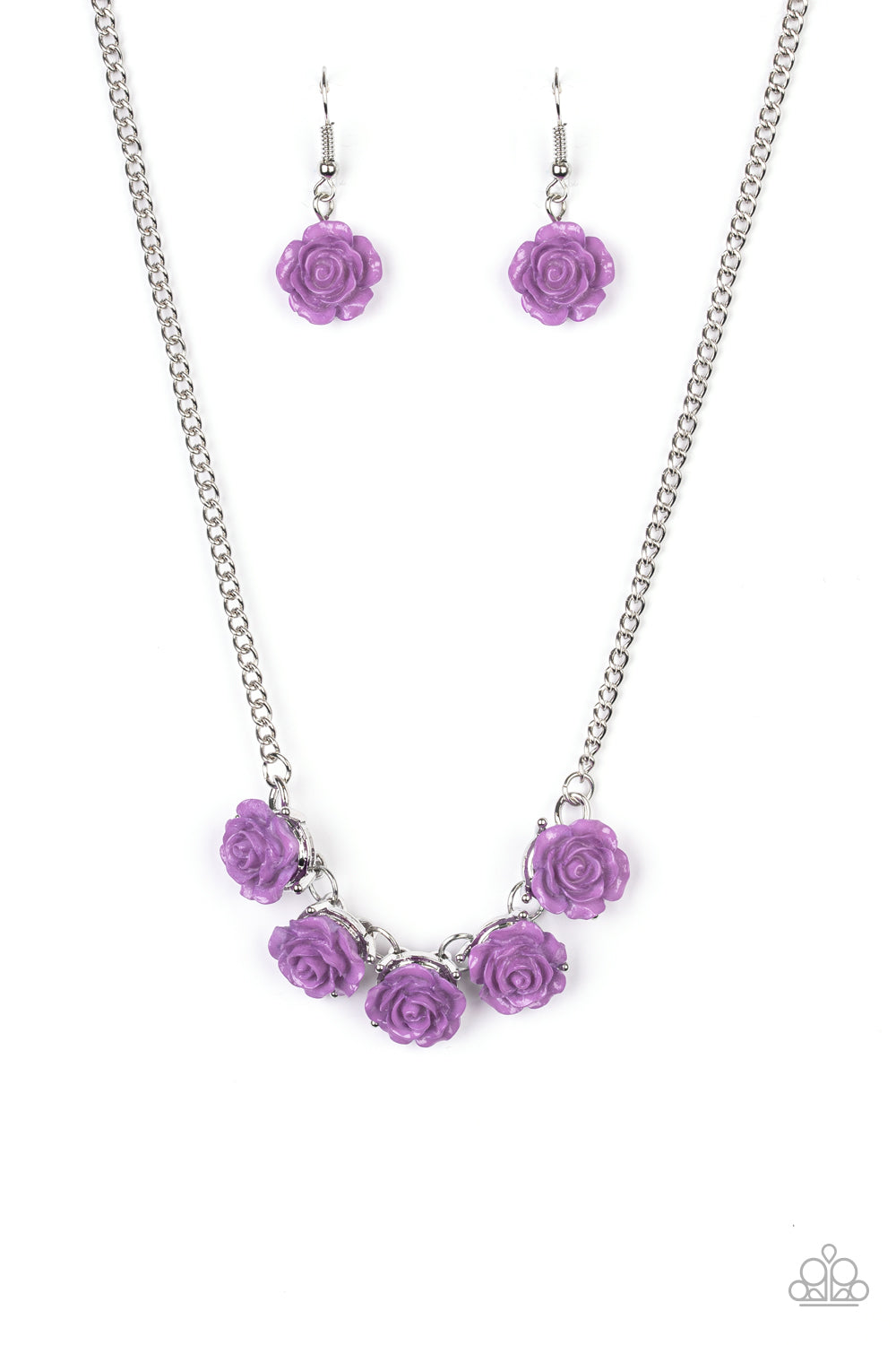 five-dollar-jewelry-garden-party-posh-purple-necklace-paparazzi-accessories