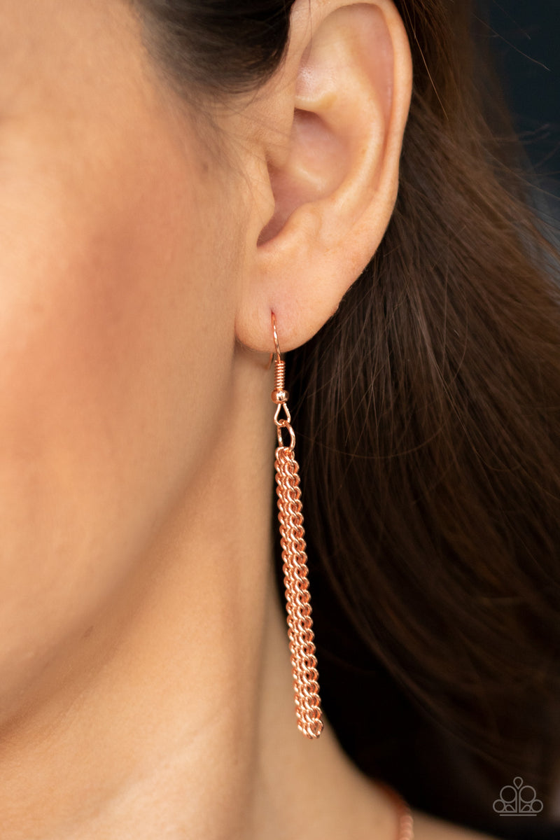 As MOON As I Can - Copper Necklace - Paparazzi Accessories