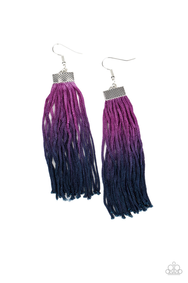 five-dollar-jewelry-dual-immersion-purple-earrings-paparazzi-accessories