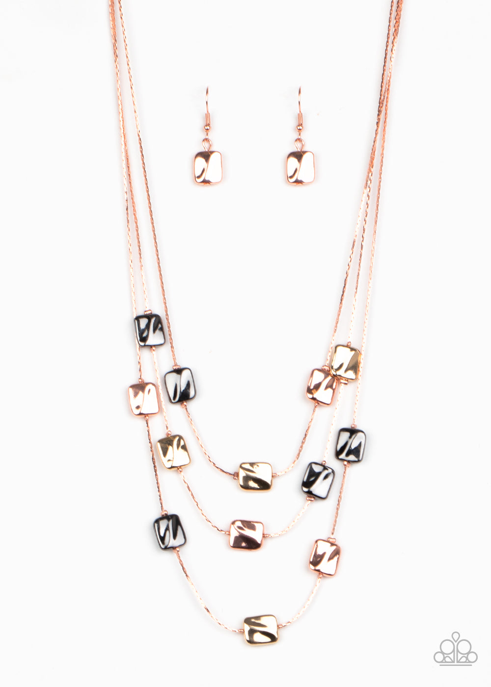 five-dollar-jewelry-downtown-reflections-copper-necklace-paparazzi-accessories