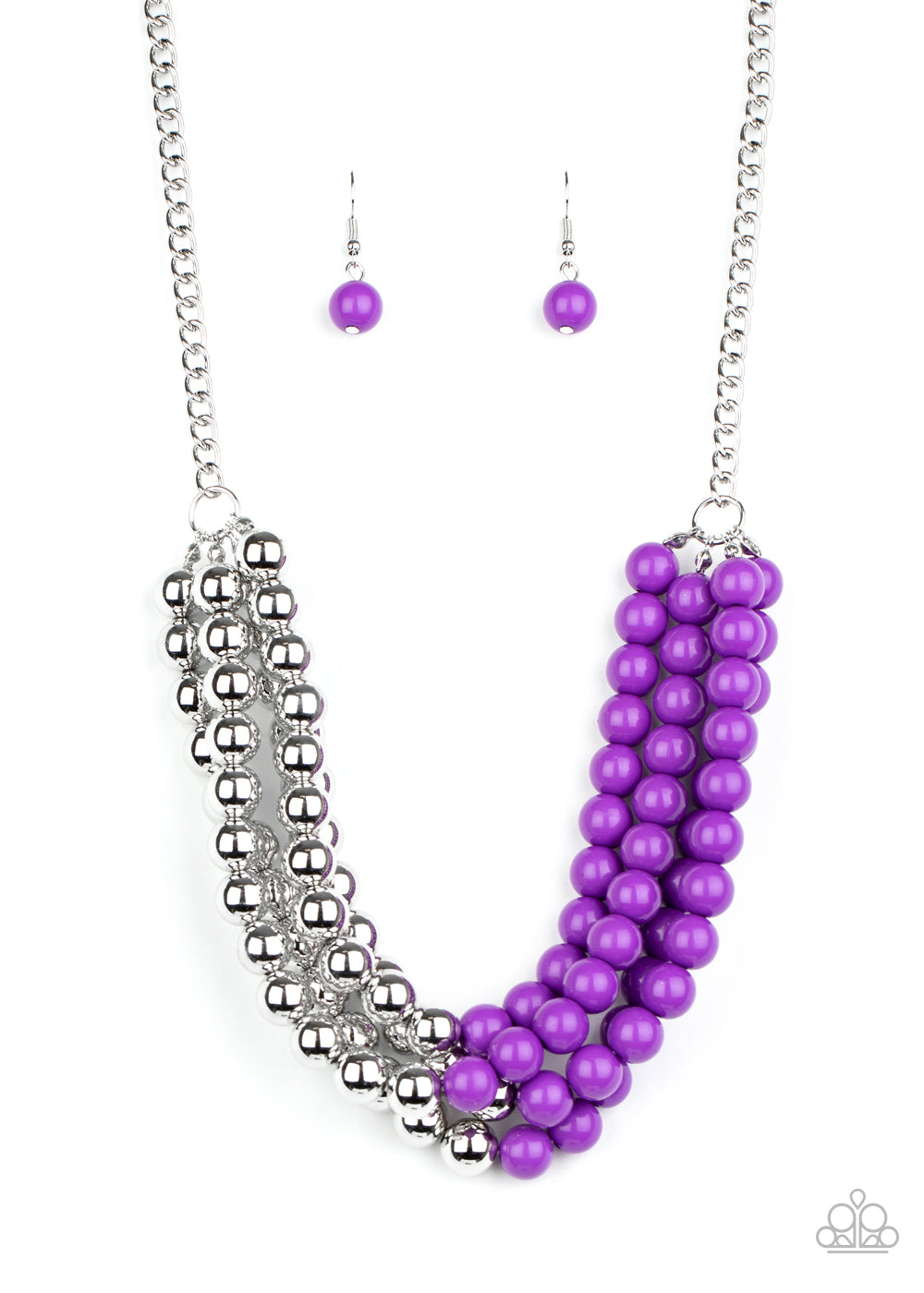 five-dollar-jewelry-layer-after-layer-purple-necklace-paparazzi-accessories