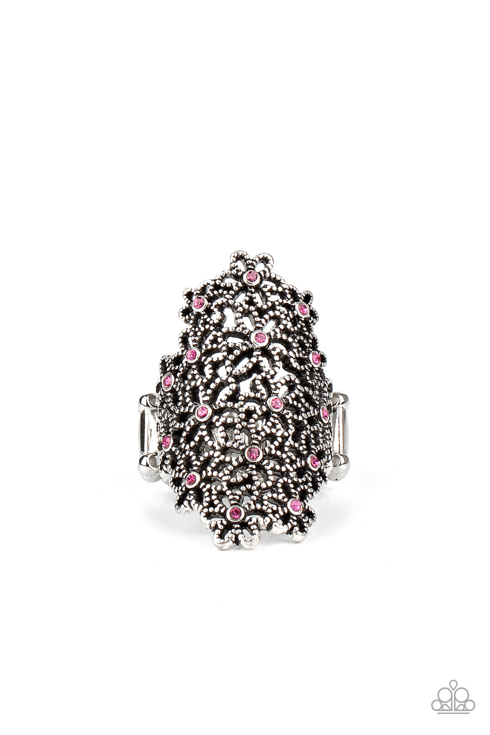 five-dollar-jewelry-youre-a-sunflower-pink-ring-paparazzi-accessories