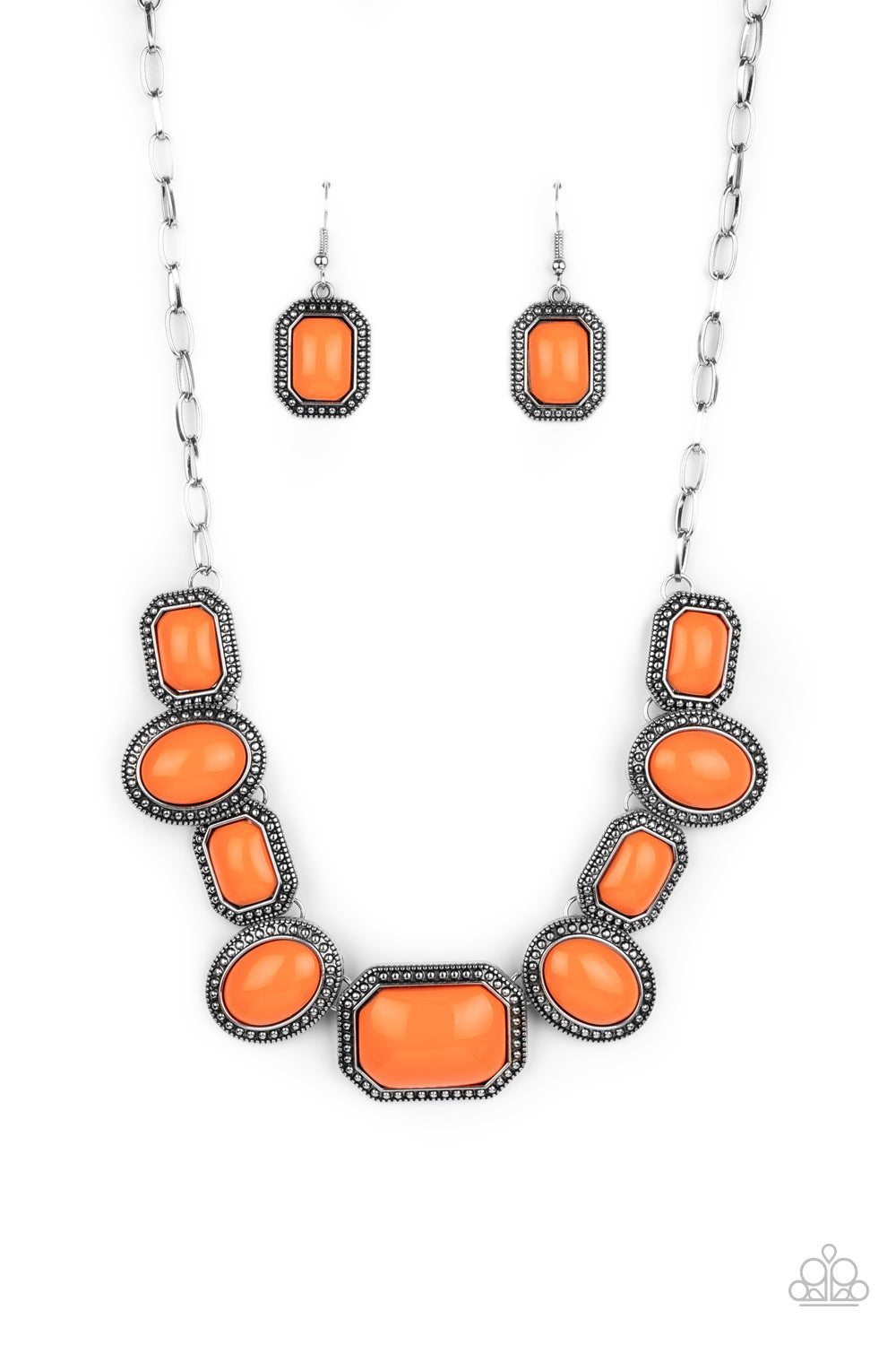 five-dollar-jewelry-lets-get-loud-orange-necklace-paparazzi-accessories