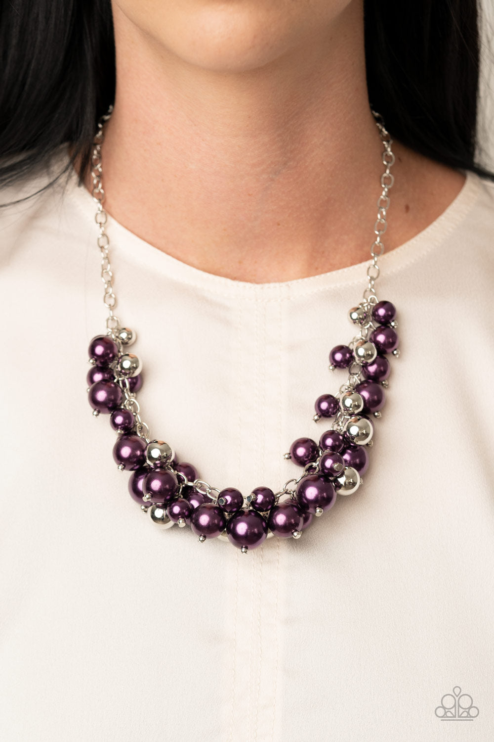 Uptown Upgrade - Purple Necklace - Paparazzi Accessories