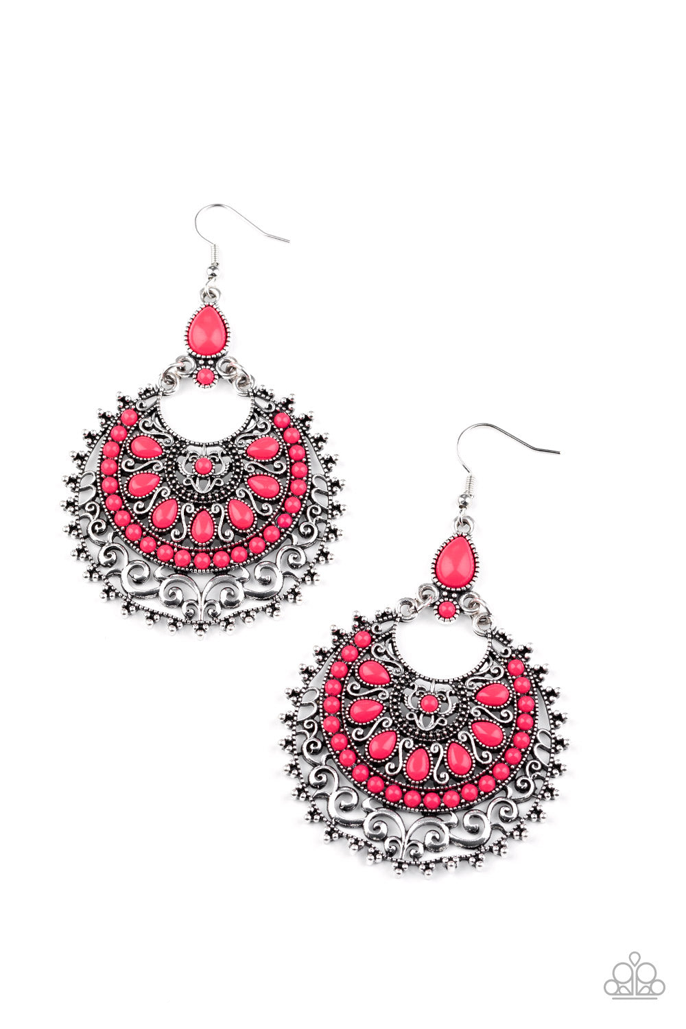 five-dollar-jewelry-laguna-leisure-pink-earrings-paparazzi-accessories