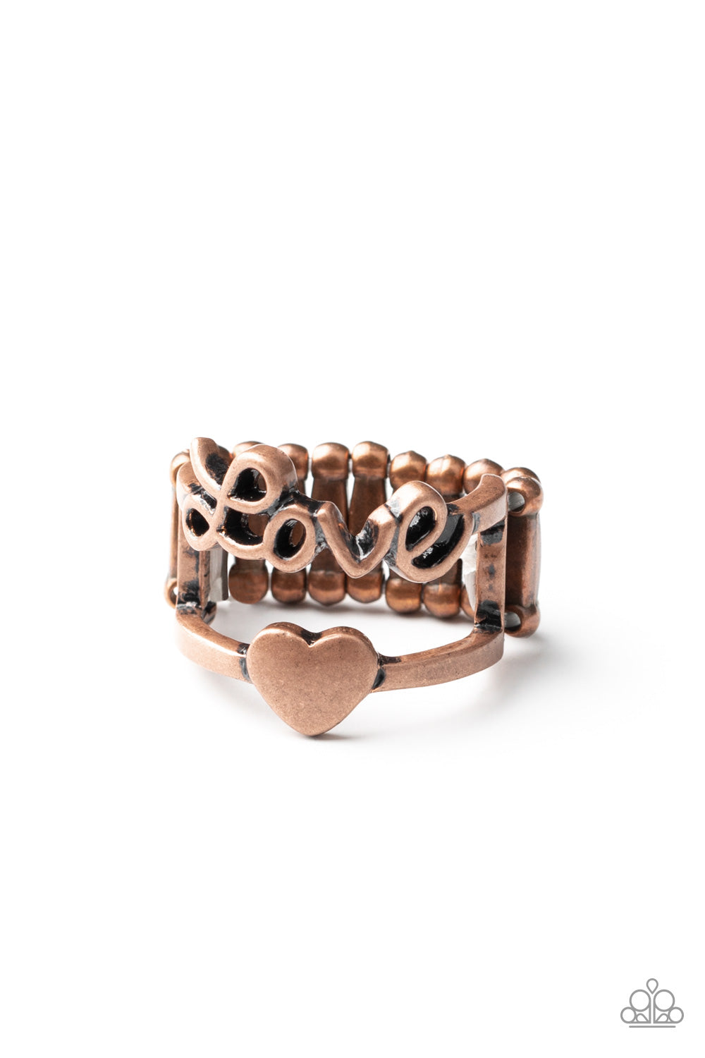 five-dollar-jewelry-heartstring-harmony-copper-ring-paparazzi-accessories