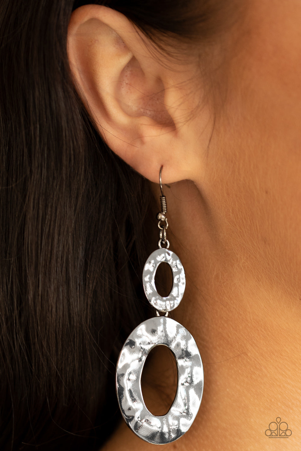 Bring On The Basics - Black Earrings - Paparazzi Accessories