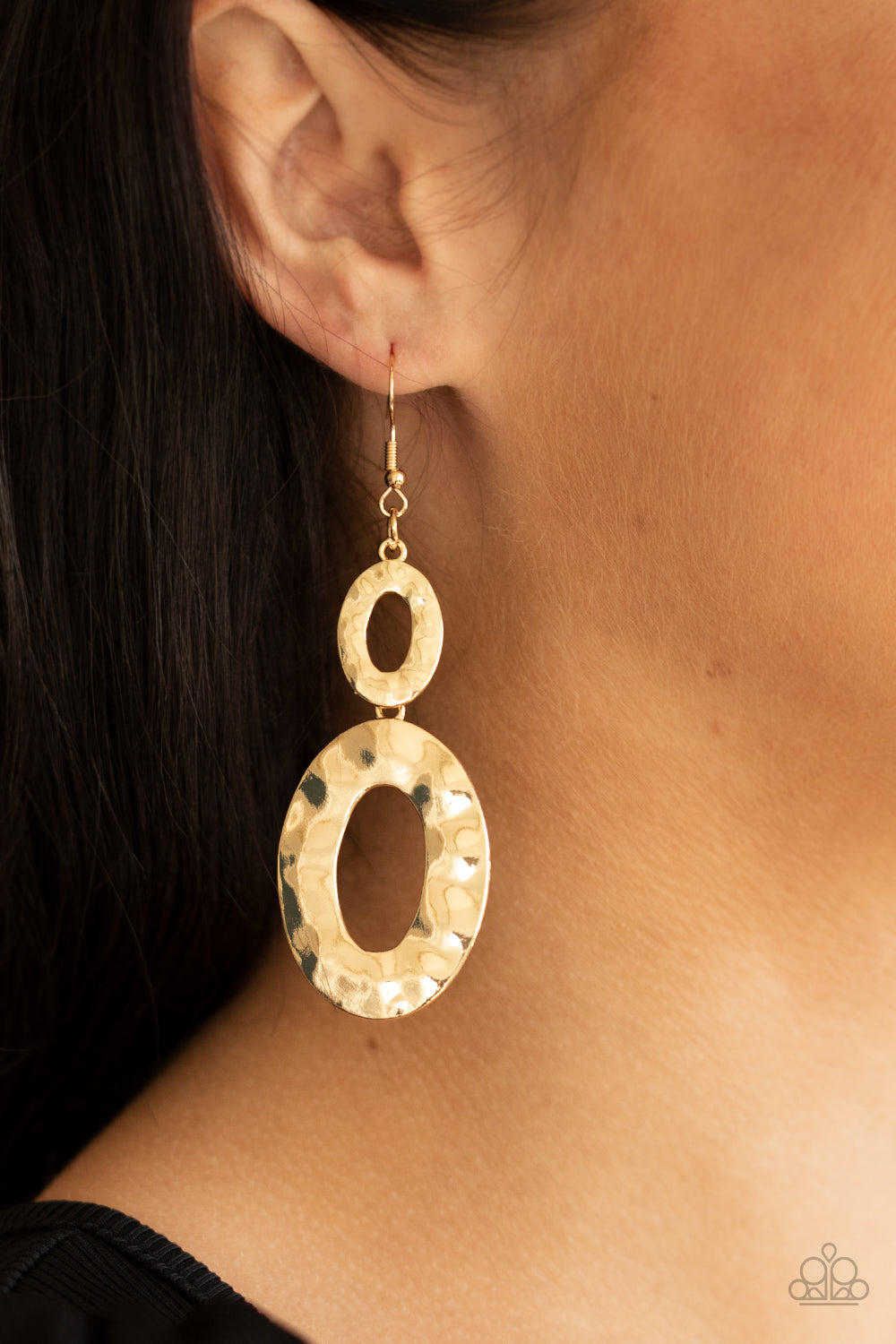 Bring On The Basics - Gold Earrings - Paparazzi Accessories