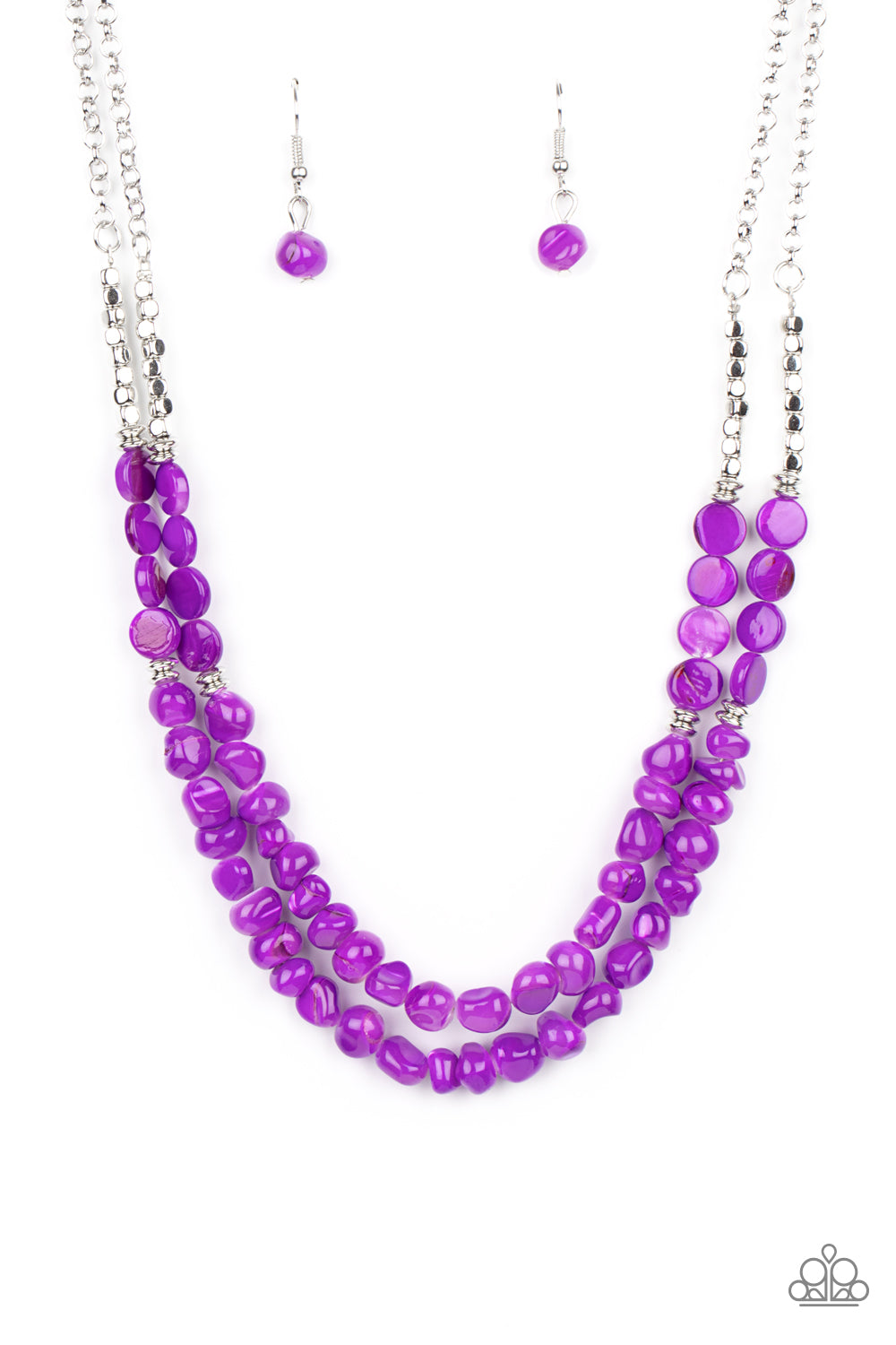 five-dollar-jewelry-staycation-status-purple-necklace-paparazzi-accessories