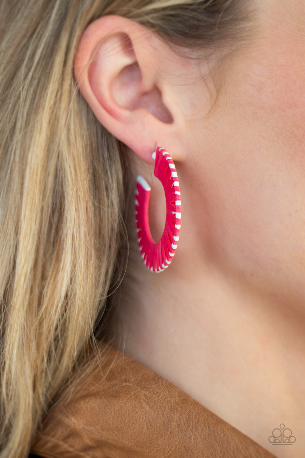 Everybody Conga! - Pink Earrings - Paparazzi Accessories