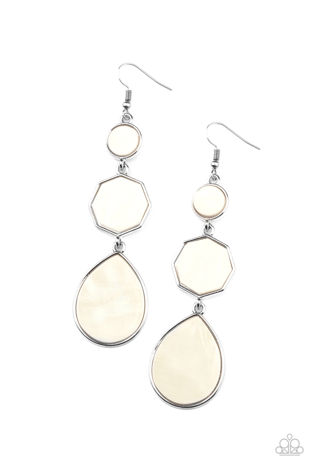 five-dollar-jewelry-progressively-posh-white-earrings-paparazzi-accessories