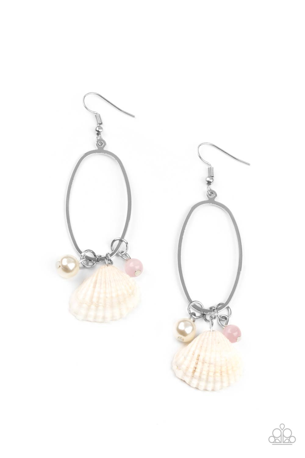 five-dollar-jewelry-this-too-shell-pass-pink-earrings-paparazzi-accessories