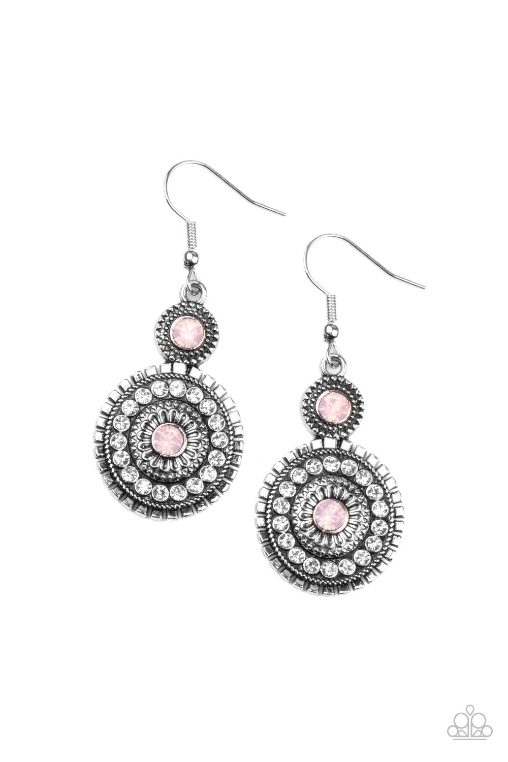 five-dollar-jewelry-opulent-outreach-pink-earrings-paparazzi-accessories