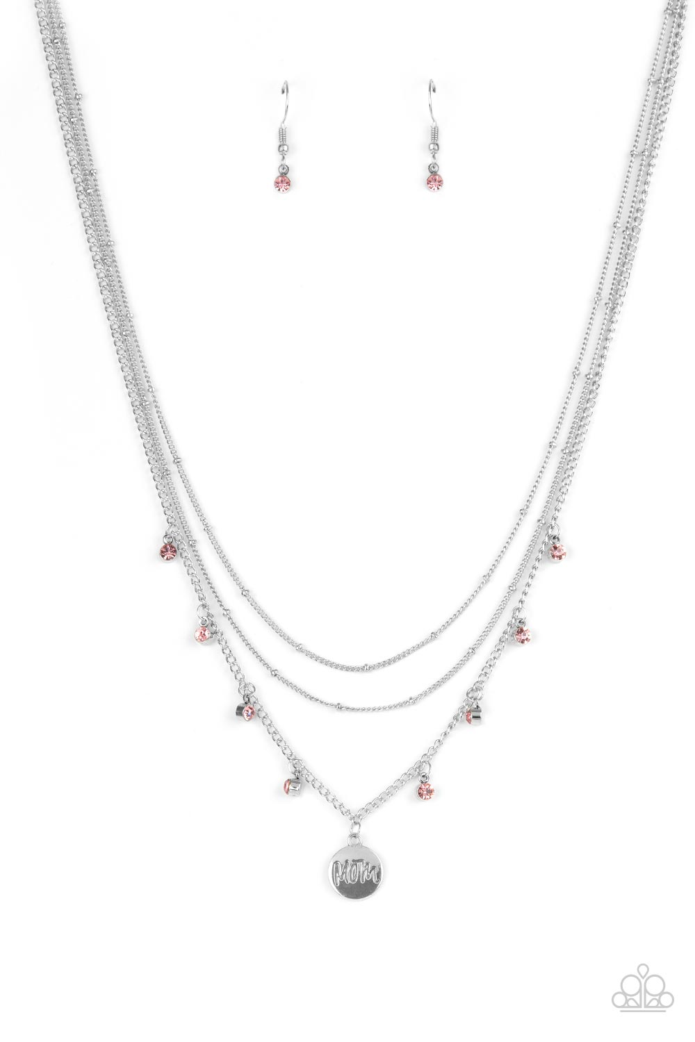 five-dollar-jewelry-ode-to-mom-pink-necklace-paparazzi-accessories