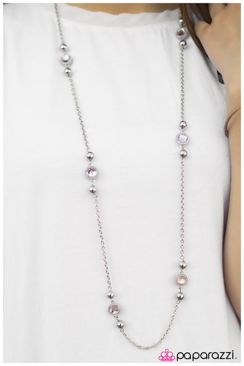 Broadway Beauty Necklace - Paparazzi Accessories