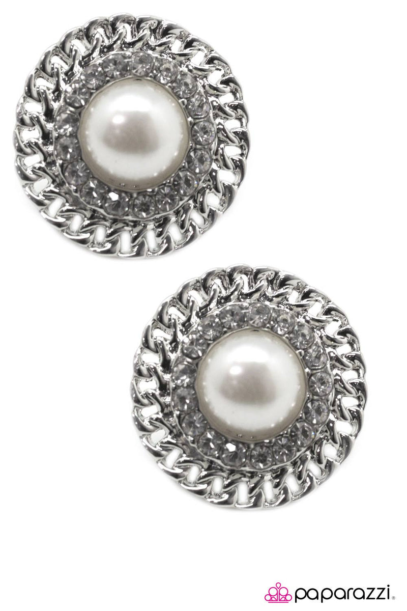 A Grand Gesture Post Earrings - Paparazzi Accessories