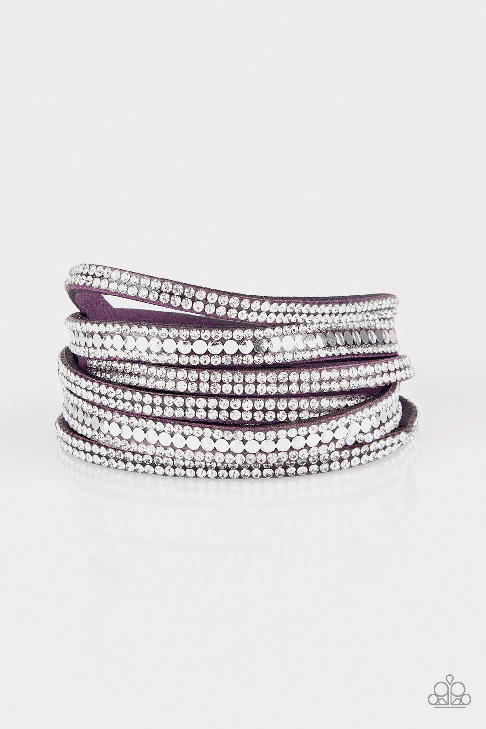 five-dollar-jewelry-rock-star-attitude-purple-bracelet-paparazzi-accessories