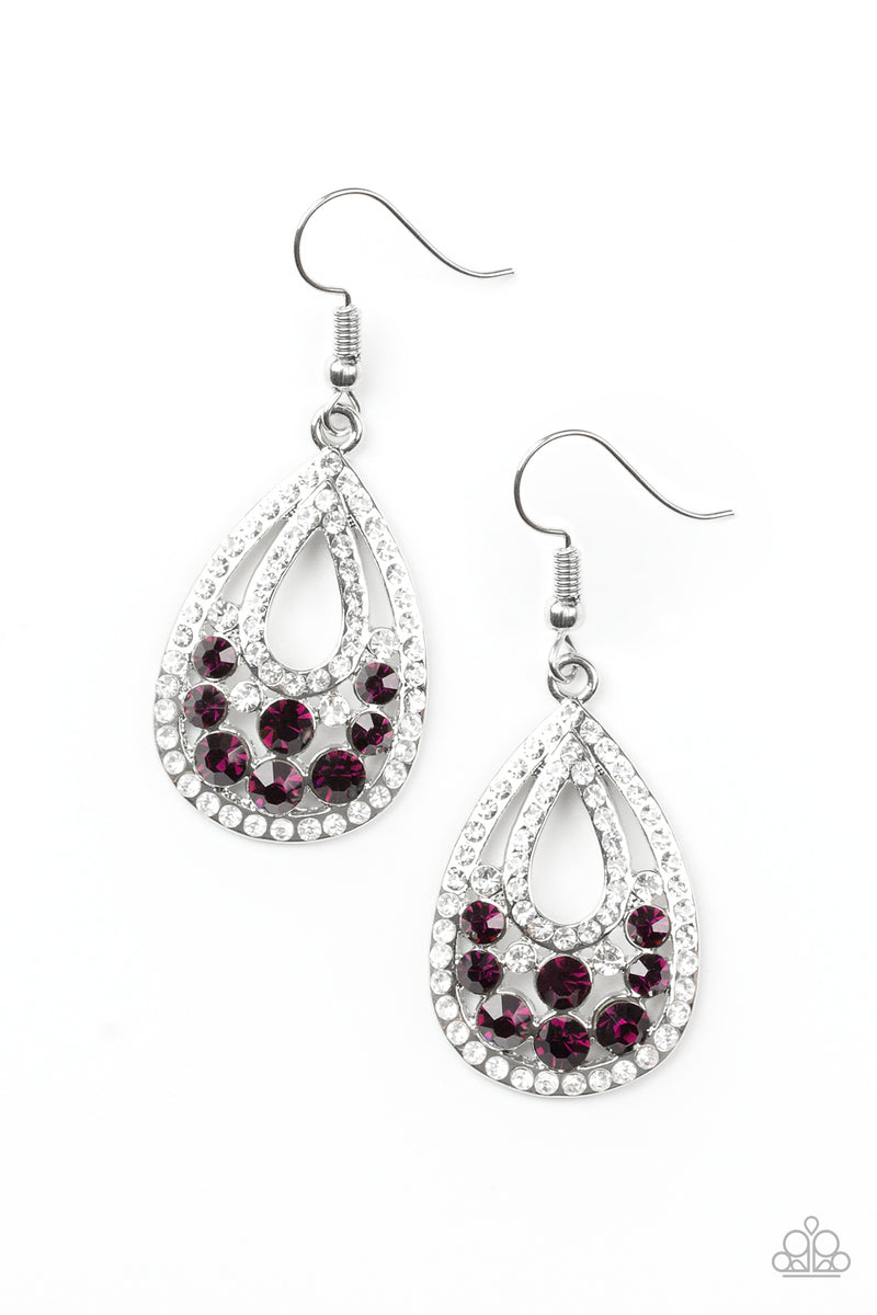 five-dollar-jewelry-sparkling-stardom-purple-earrings-paparazzi-accessories