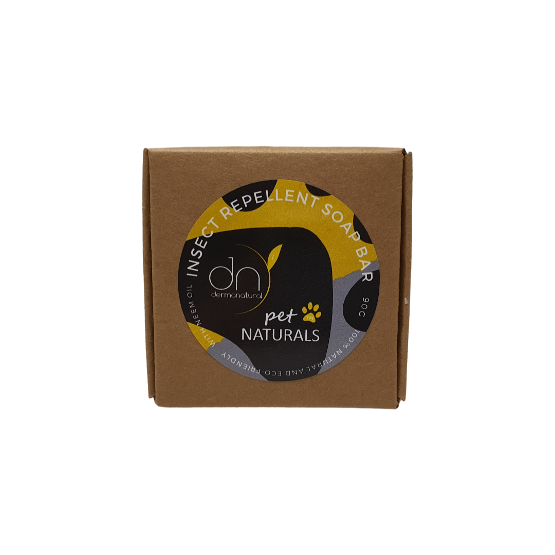 Dermanatural Pet Naturals - Natural ECO-FRIENDLY Insect Repellent Soap Bar 90g - Pet bonds