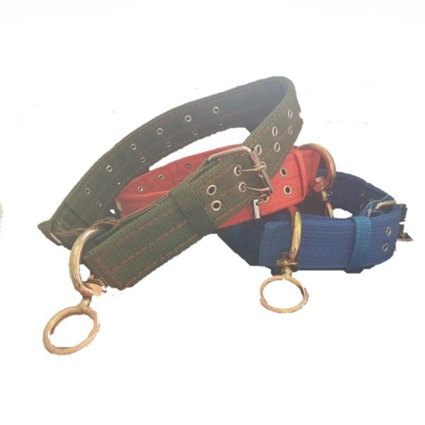 Large Dog Collar with Studs - Assorted Colours