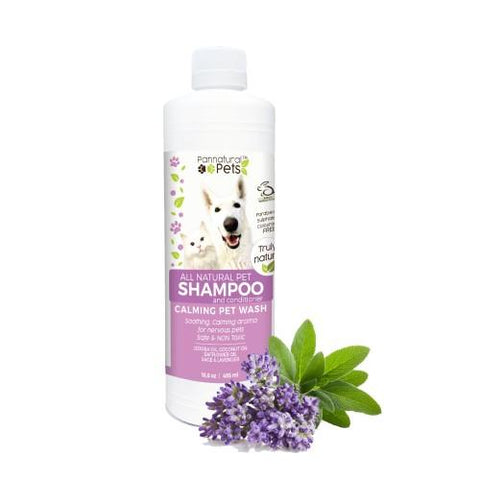 Natura Pets - Calming Lavender Pet Wash for Dogs & Cats - Pet bonds