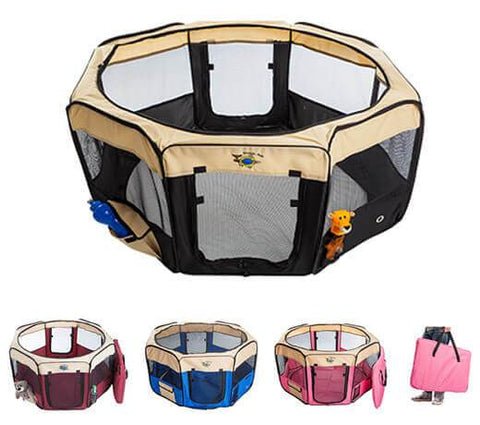 Portable Pet Pen - Pet bonds