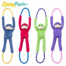 ZippyPaws - Monkey RopeTugz - Pet bonds