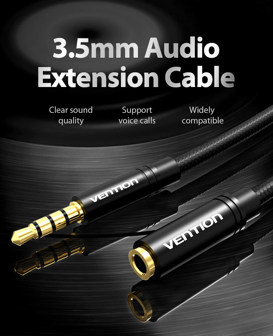 Vention 3.5mm Audio Extension Cable