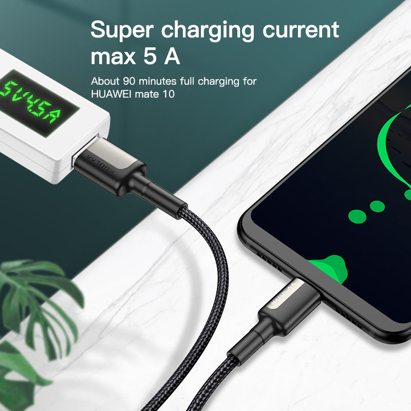 USB-A to USB-C Type-C fast charging cable