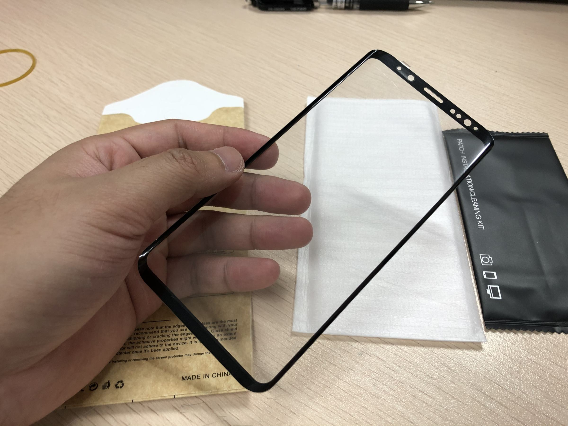 Premium 3D 9H Full Coverage Clear Tempered Glass Screen Protector