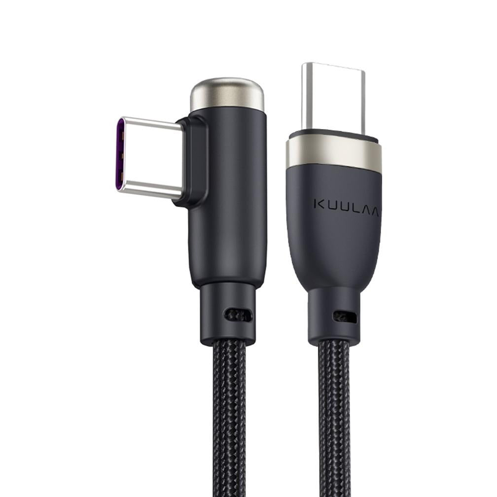 USB-C PD 60W 3A fast charging cable - Quick Charge 3.0 Angled