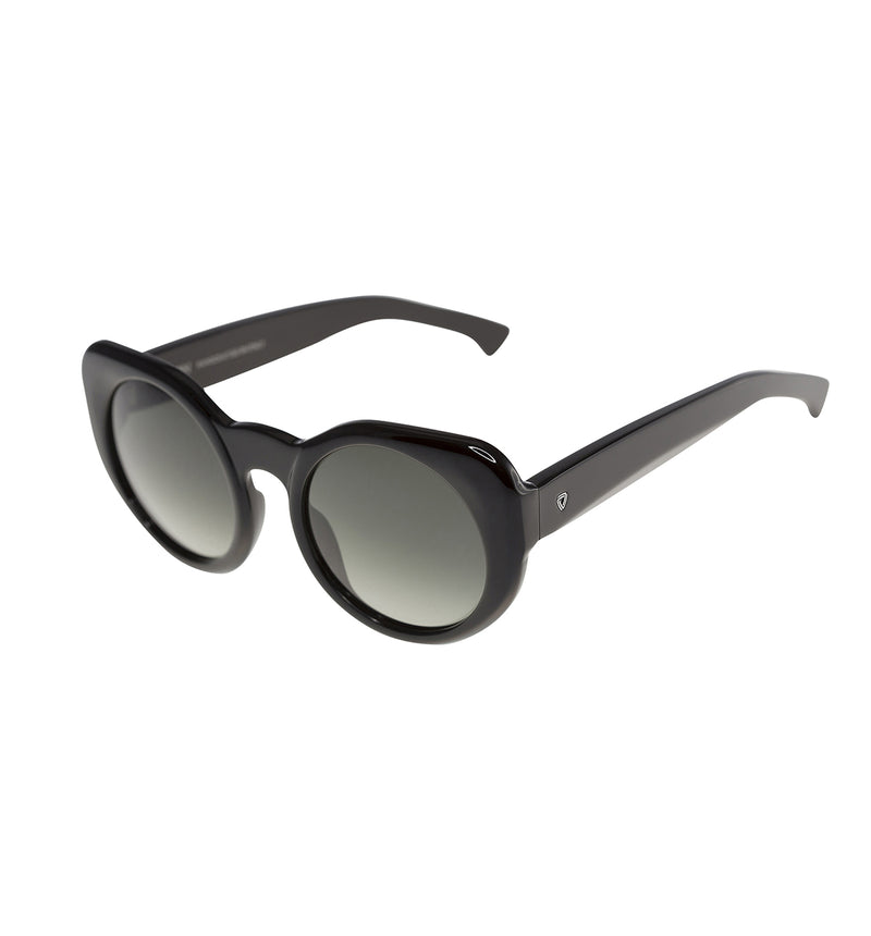 SUSANNA - Black | Smoky Black Lens