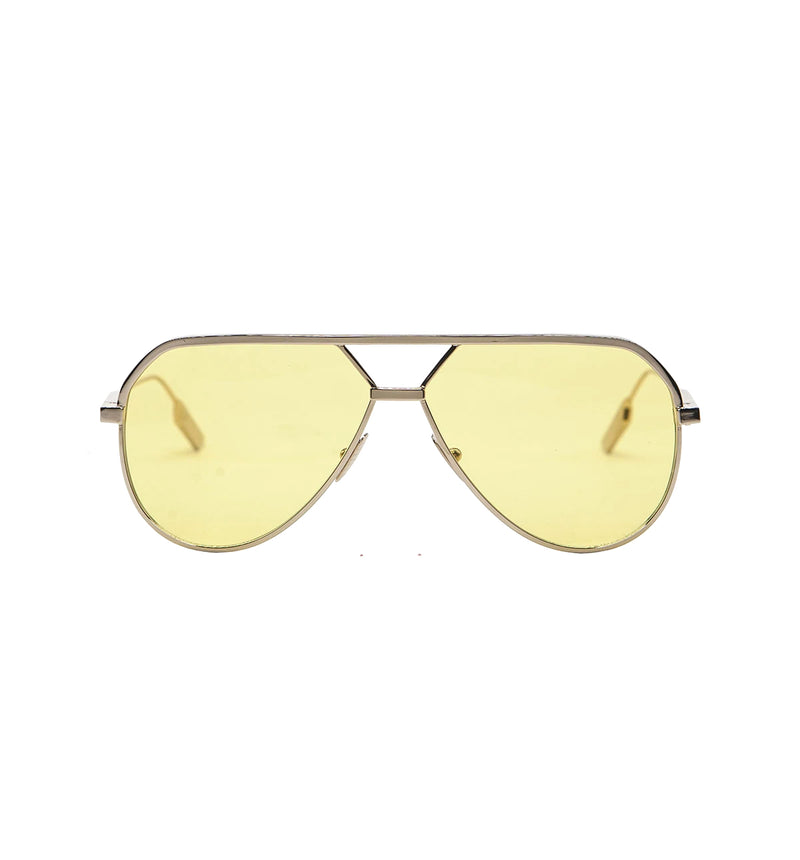 LEONE - Rose Gold | Yellow Lens