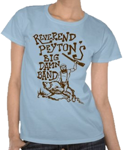 Rev Rides a Bear Women's Babydoll T-Shirt