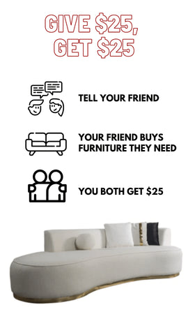 Referral program for all customers at on demand furniture & mattress